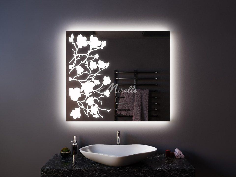 Зеркало для спальни Flowers