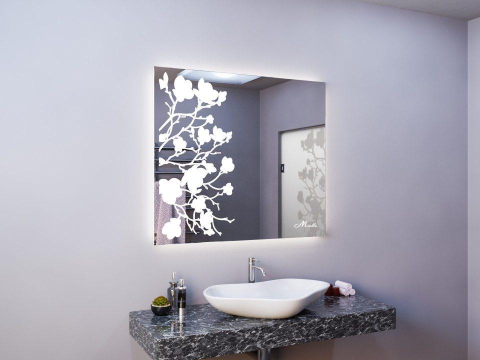 Зеркало в эко-стиле Flowers