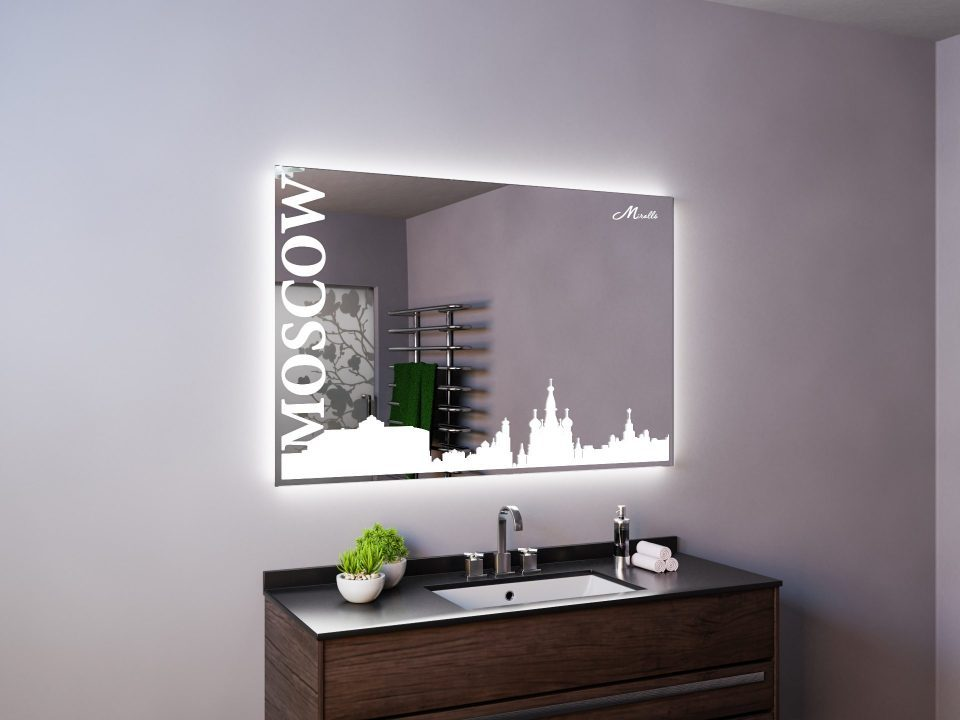 Зеркало с подсветкой Moscow