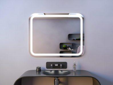 Зеркало со скругленными углами Loretta