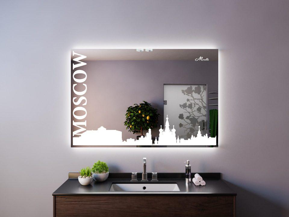 Зеркало в стиле урбан Moscow