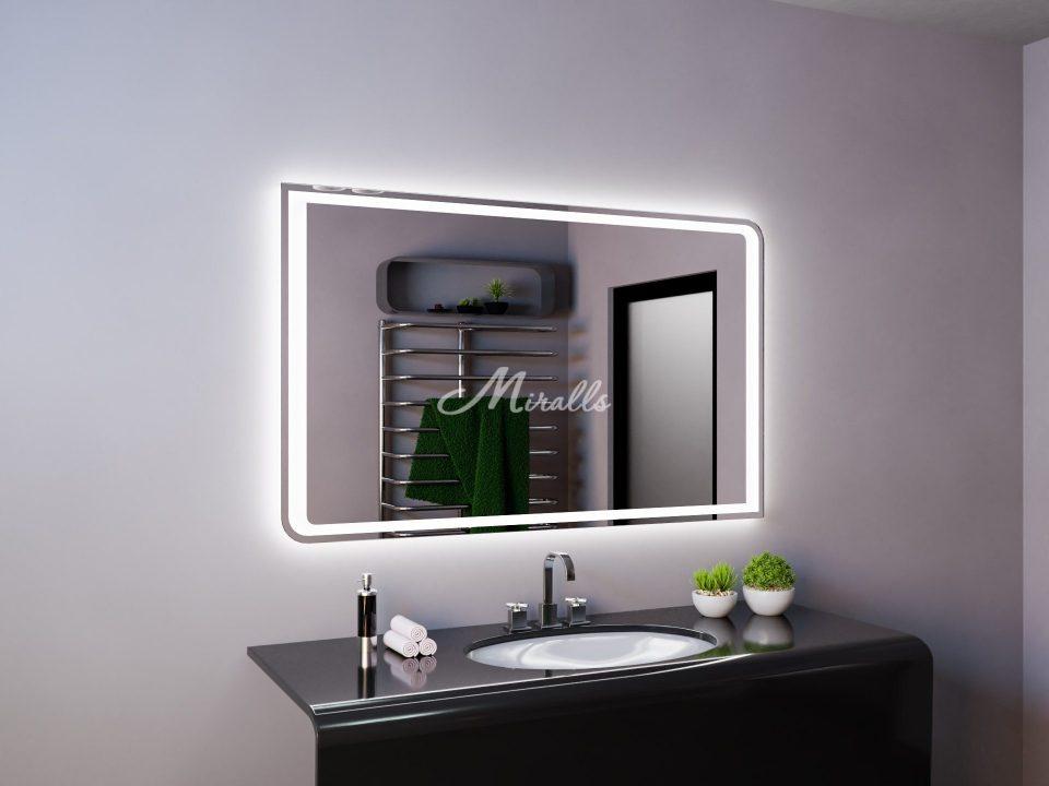 Зеркало в ванную с подсветкой Fusion