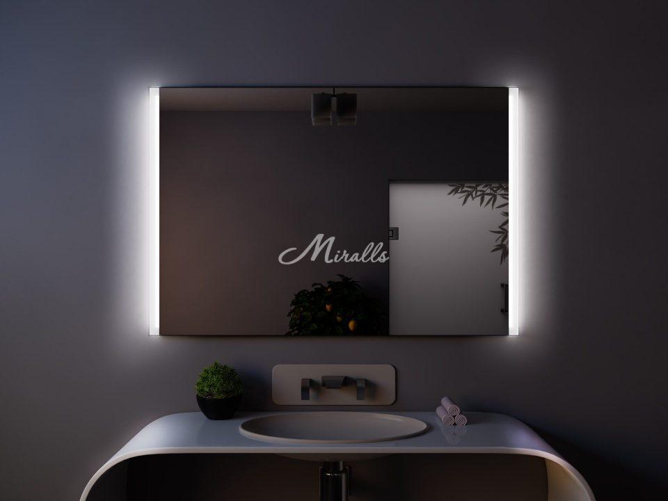 Зеркало с боковыми светильниками Adele
