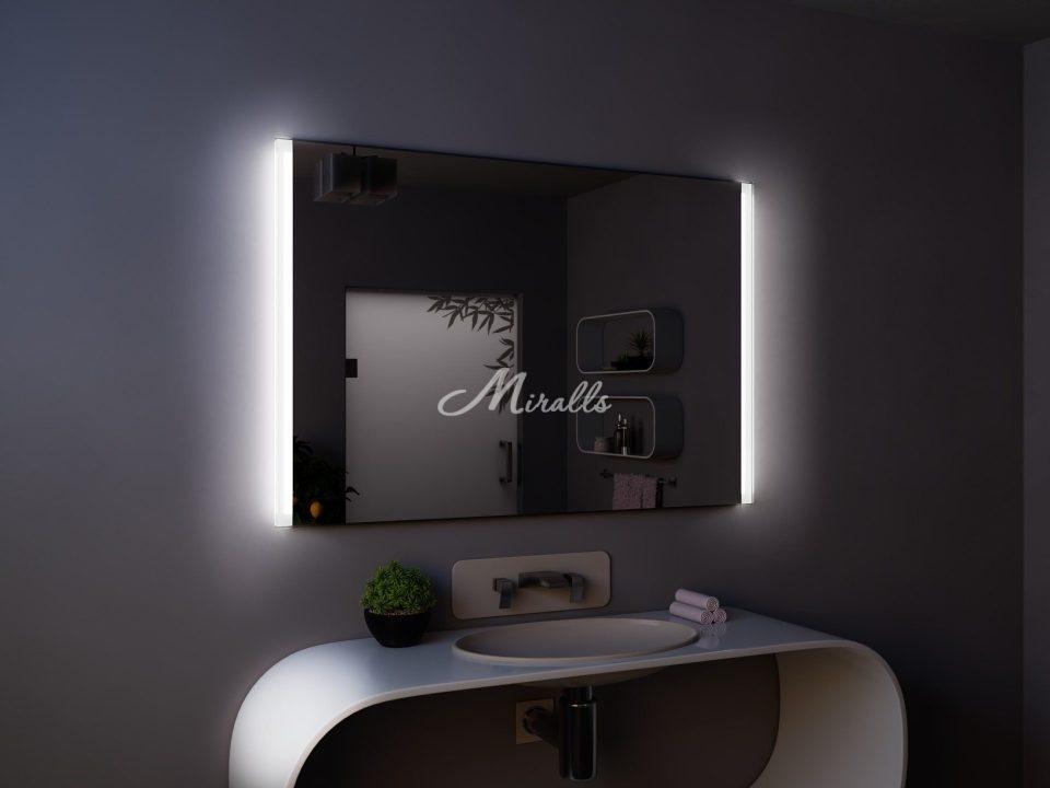 Зеркало с подсветкой по сторонам Adele