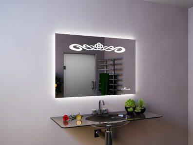 Зеркало с подсветкой и подогревом Olesya
