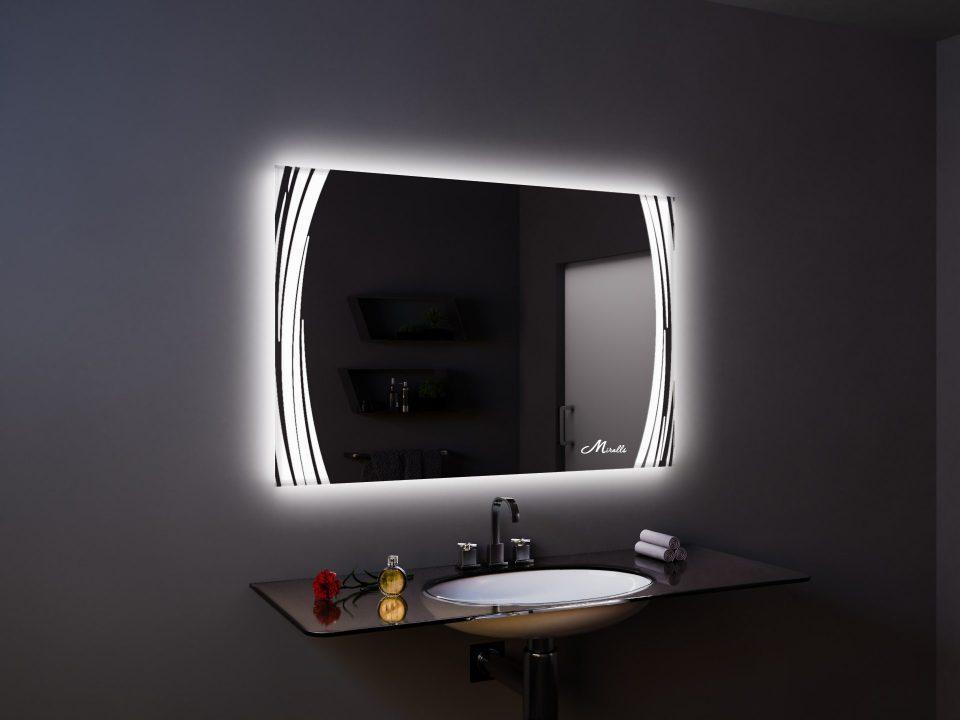 Зеркало со световым рисунком Anastasia