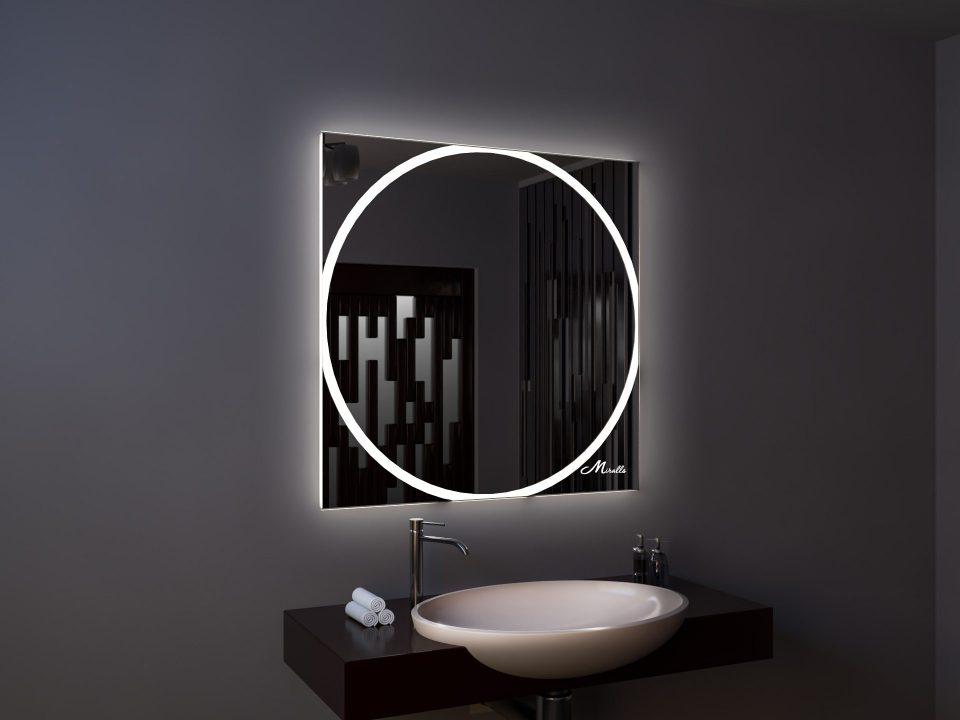 Зеркало с подсветкой Sphere