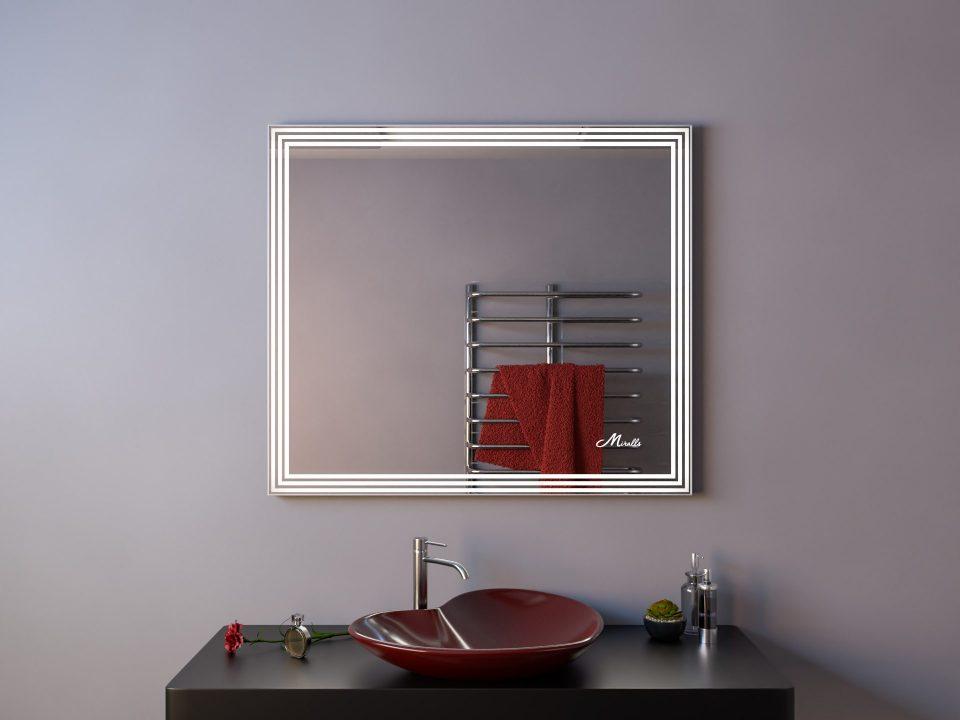 Зеркало с подсветкой Quadra