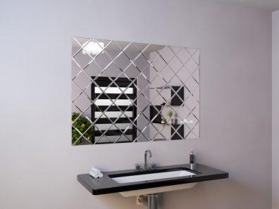 Зеркальное панно с фацетом фото 1