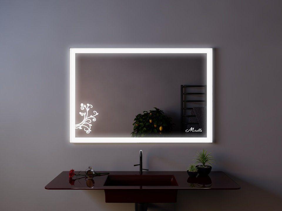 Зеркало с подсветкой Wood