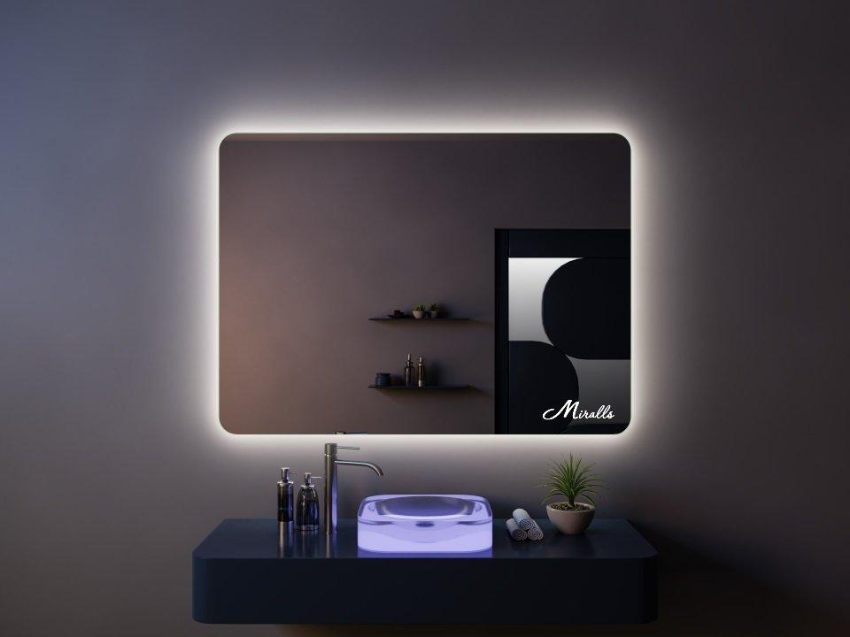 Зеркало с подсветкой Light