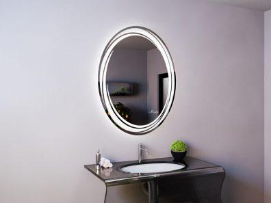 Овальное зеркало Sofia
