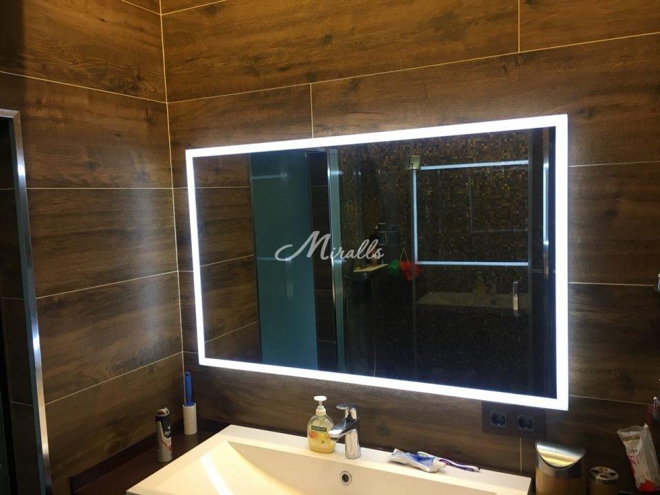 Зеркало Murano в частной квартире (ЖК Фили-Град)