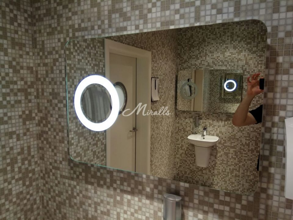 Зеркало XL с увеличительным зеркалом  (ЖК Легенды Цветного)