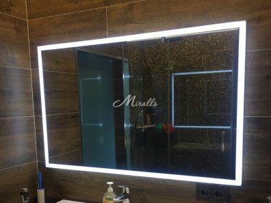 Зеркало для ванной комнаты с подсветкой Murano