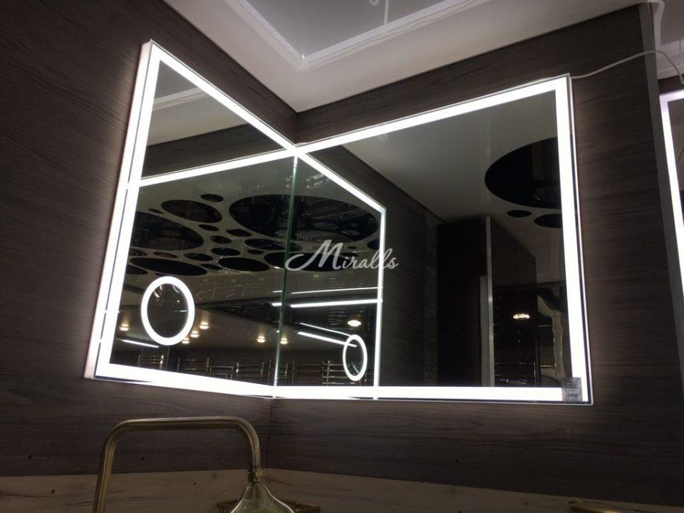 Угловая модификация зеркала Murano Extra