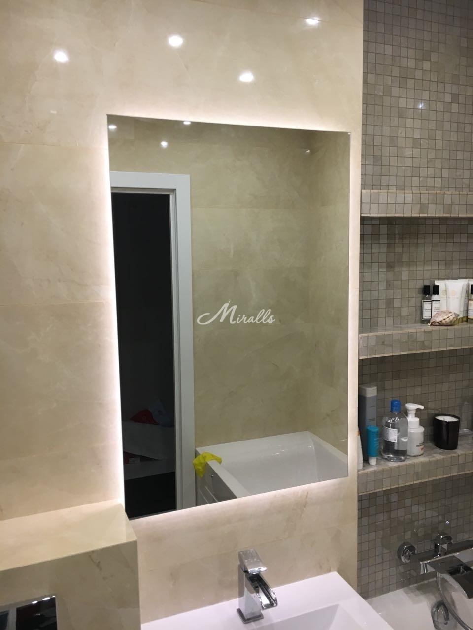 Зеркало Simple в частной квартире (ЖК Триколор)