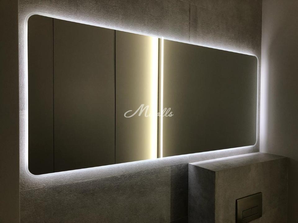 Наше зеркало Light в частной квартире, ЖК «Румянцево-парк»