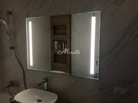 Наше зеркало Lora Extra у клиента в ЖК «Дом на Люсиновской»