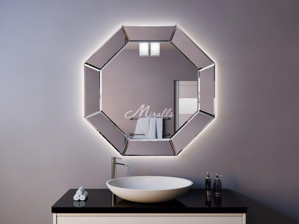 Зеркало с подсветкой в ванную комнату Coliseum Extra