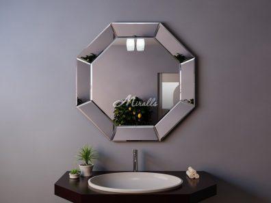 Зеркало без подсветки в ванную комнату Coliseum