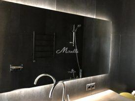 Зеркало Light в квартире в ЖК «Ярославский»