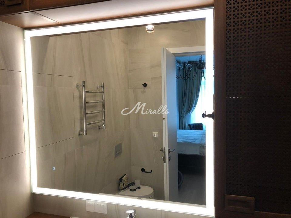 Зеркало Murano Extra (выключатель тач-квадрат) в ЖК «Северный»