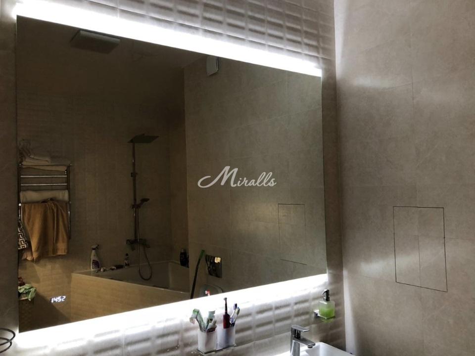 Зеркало River в частной квартире в МФК «Савеловский Сити»