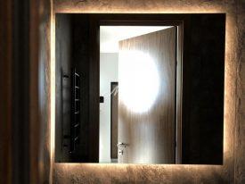 Зеркало Light в частной квартире (МФК Флотилия)