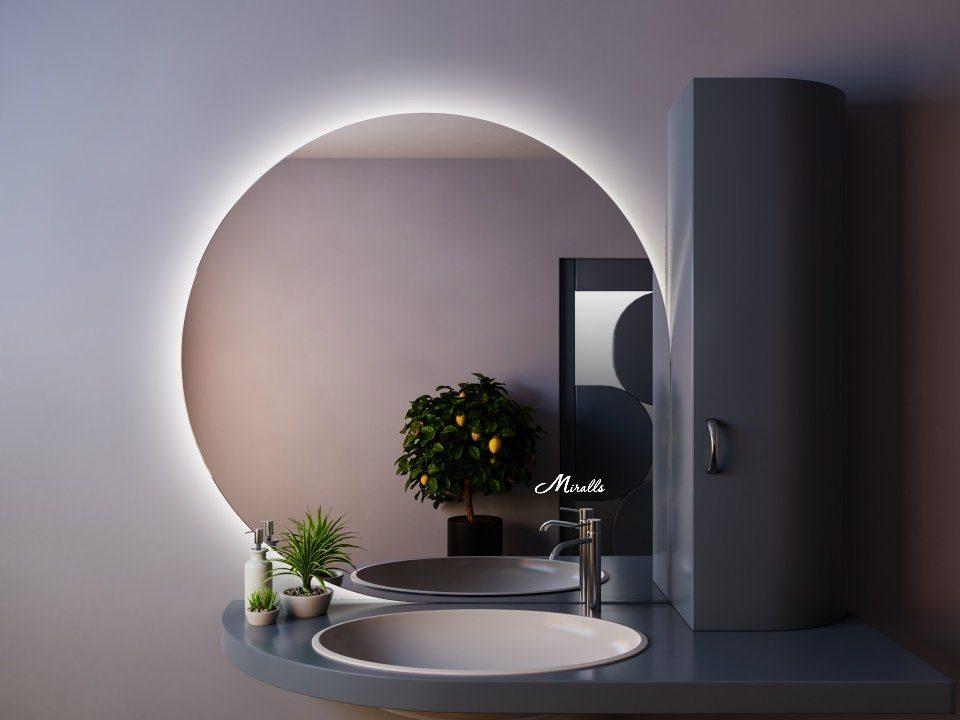 Зеркало с подсветкой Drop