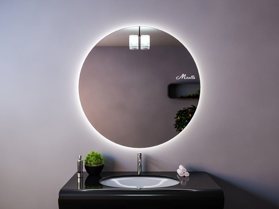 Круглое зеркало с подсветкой Eclipse