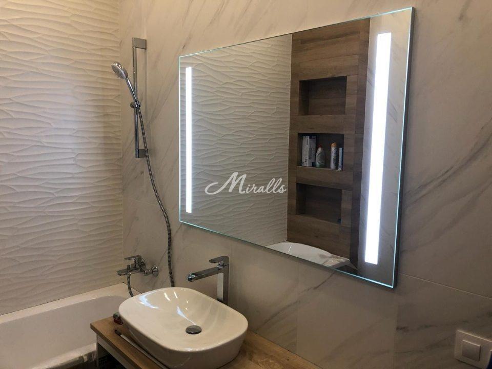 Зеркало Lora Extra на алюминиевом профиле Монтичелли