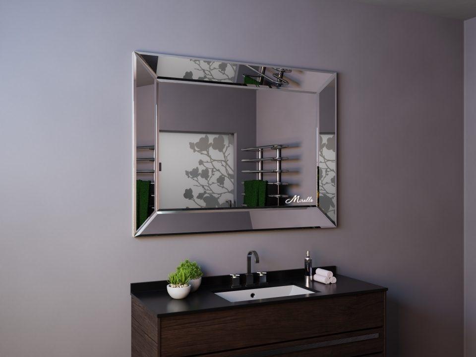 Зеркало в ванную комнату без подсветки Provance