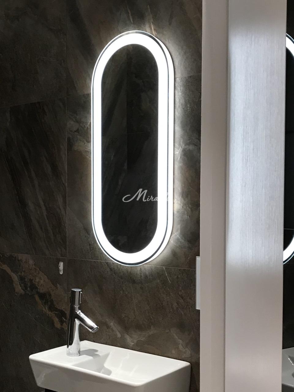 Зеркало Aura в частной квартире (ЖК западный порт)
