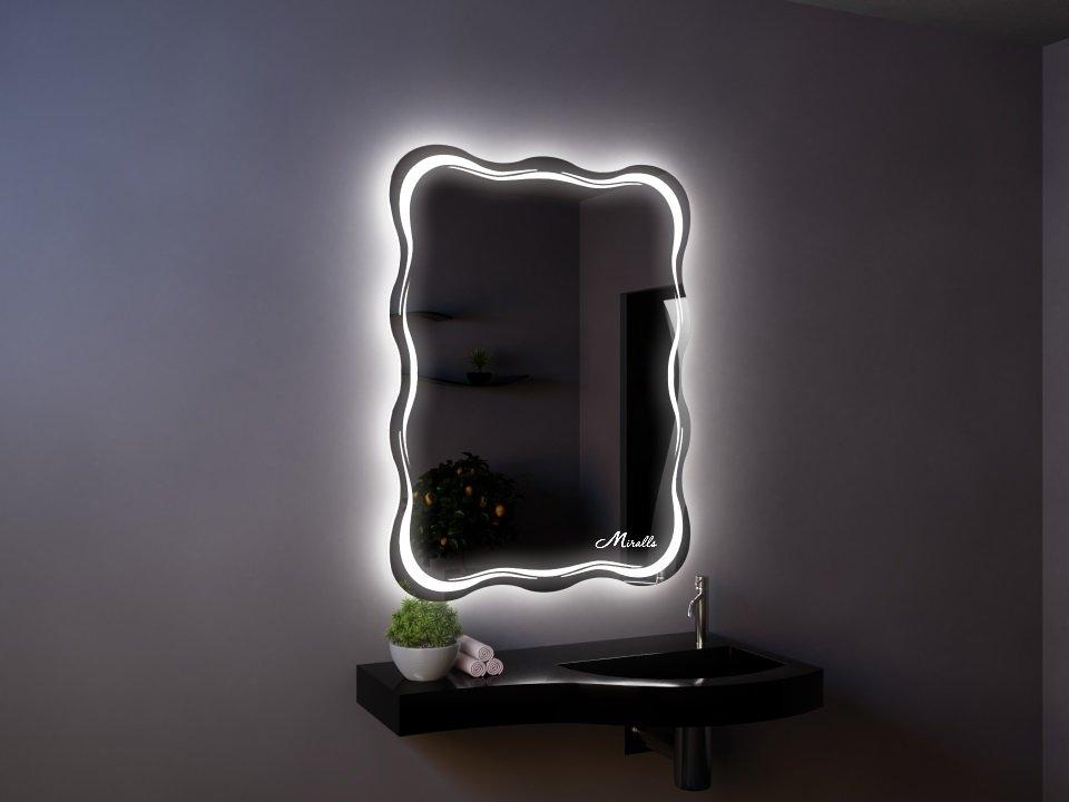 Зеркало с подсветкой Waves