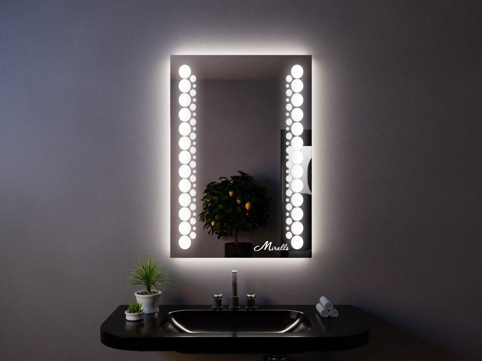 Зеркало с подсветкой Flash