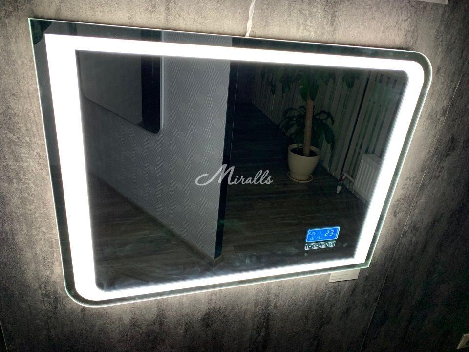 Зеркало Fusion с холодной подсветкой