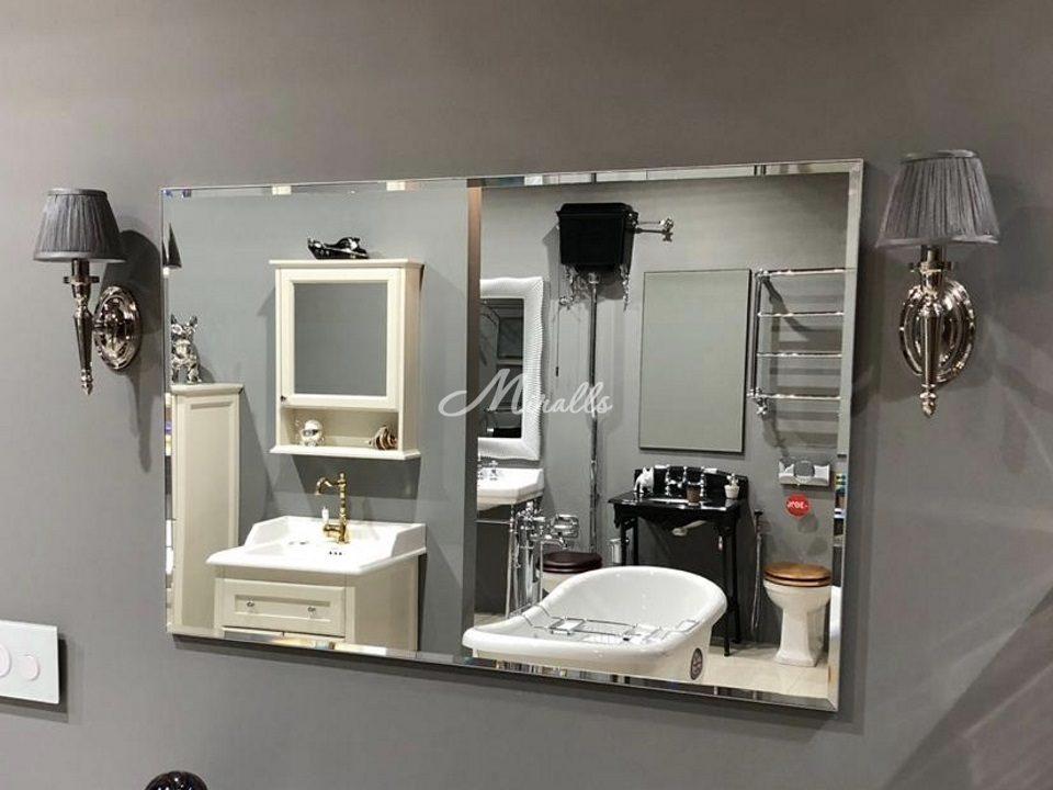 Зеркало Galla New в серебряной раме