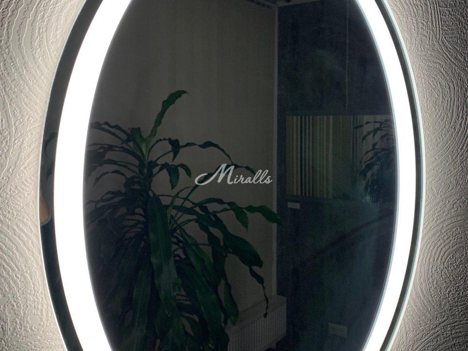 Зеркало Lake с подсветкой 6000К (холодный свет)