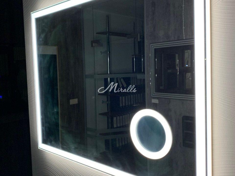 Зеркало Murano Extra с холодной подсветкой