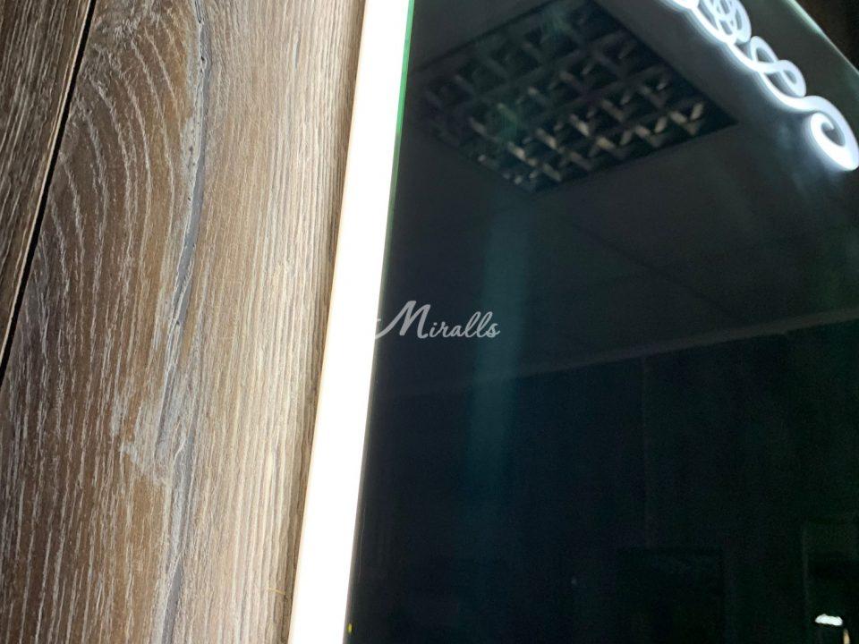 Профиль и рисунок зеркала с подсветкой Olesya