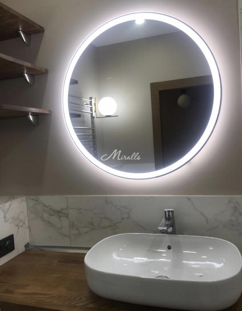 Зеркало Ring в частной квартире (ЖК Life Ботанический)