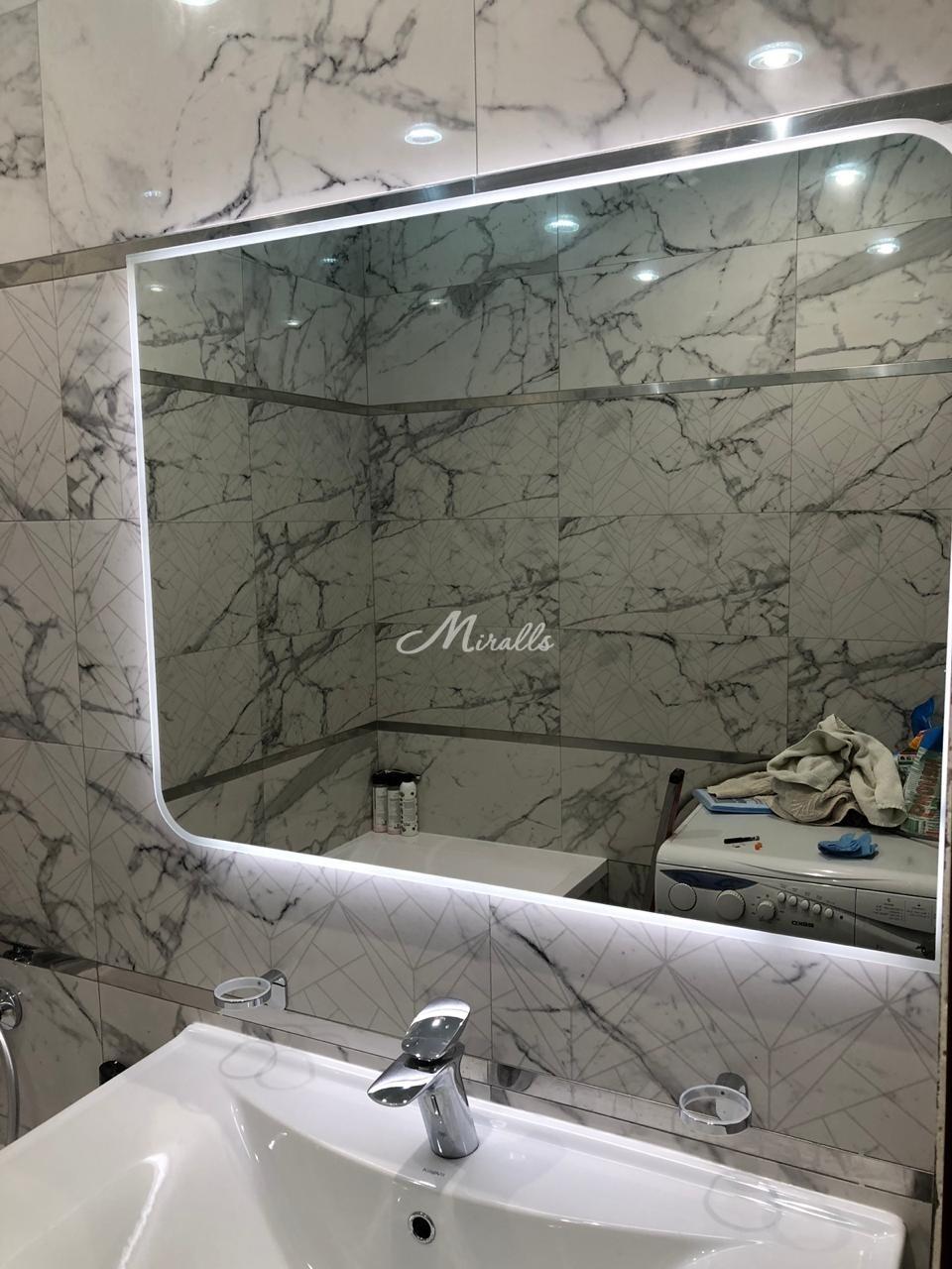Зеркало Sabina в частной квартире (ЖК Only)
