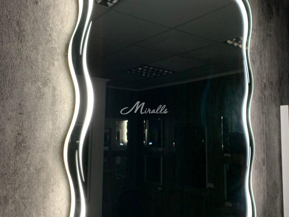 Зеркало Waves с подсветкой 6000K (холодный свет)
