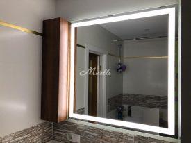 Зеркало Edging в частной квартире (ЖК Бутово-Парк)