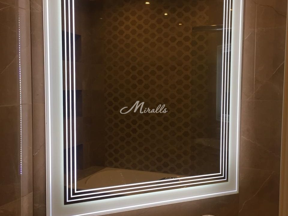 Зеркало Royal в частной квартире (ЖК Флотилия)