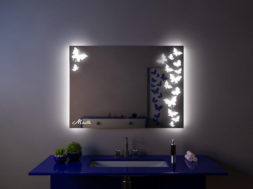 Зеркало с подсветкой Edem