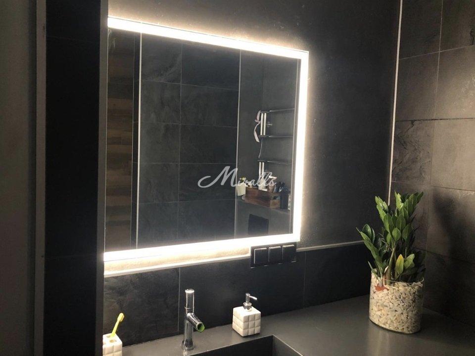 Зеркало Murano Extra в частной квартире (ЖК Сколковский)