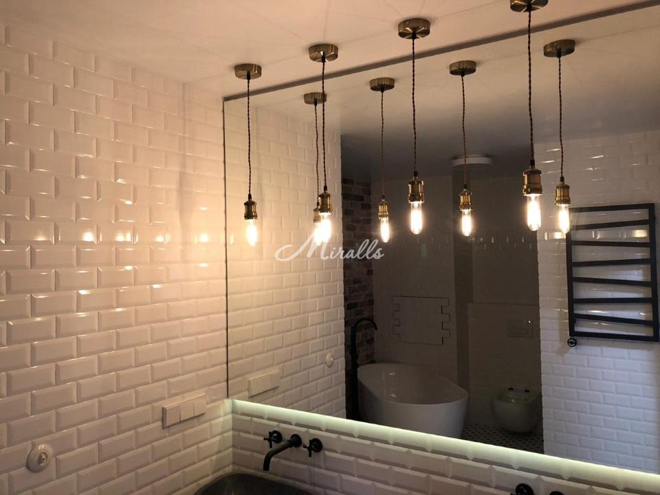 Модификации зеркала Vesta в частной квартире (ЖК Преображение)