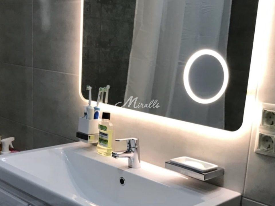 Зеркало XL с увеличительным стеклом